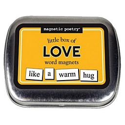 LOVE WORD MAGNETS